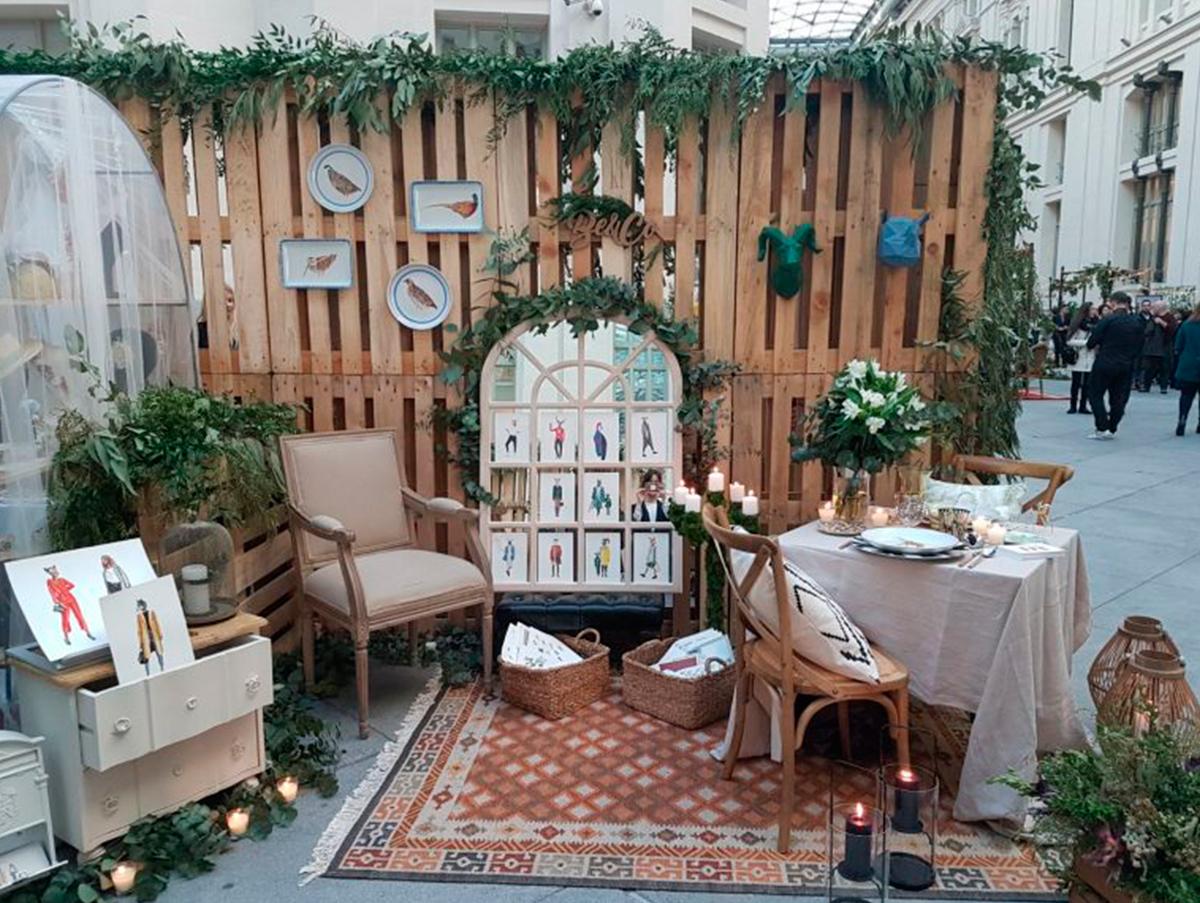 galeria de cristal wedding planners stand feria