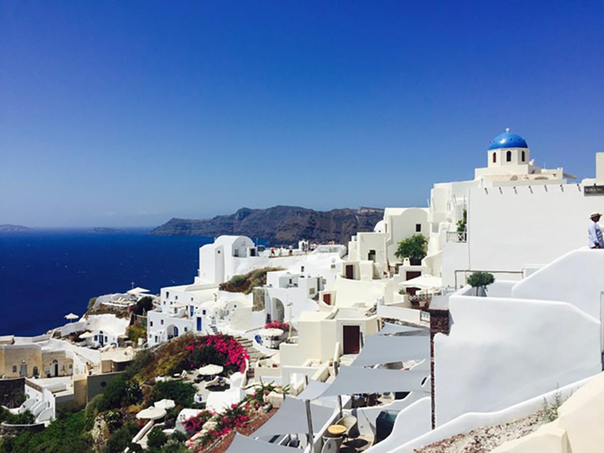 grecia viaje novios