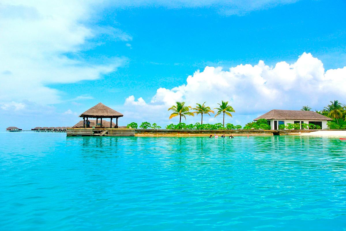 maldivas playa viajes novios
