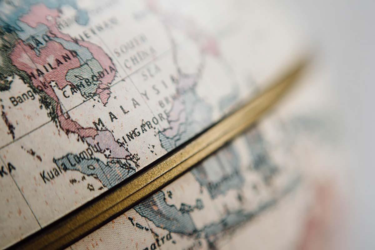 mapa mundi viajes novios